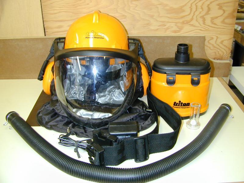 Triton Powered Respirator by Bill Esposito 26 March 2004